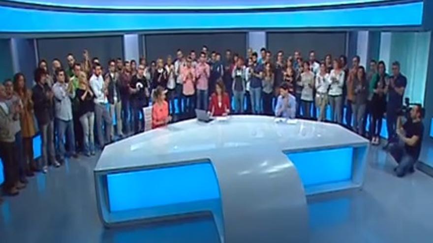 Los trabajadores de Canal 9 anuncian el cierre de la cadena