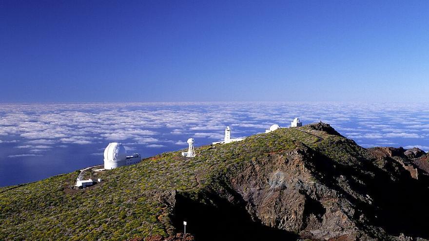 En la imagen, complejo de astrofísica del Roque de Los Muchachos.