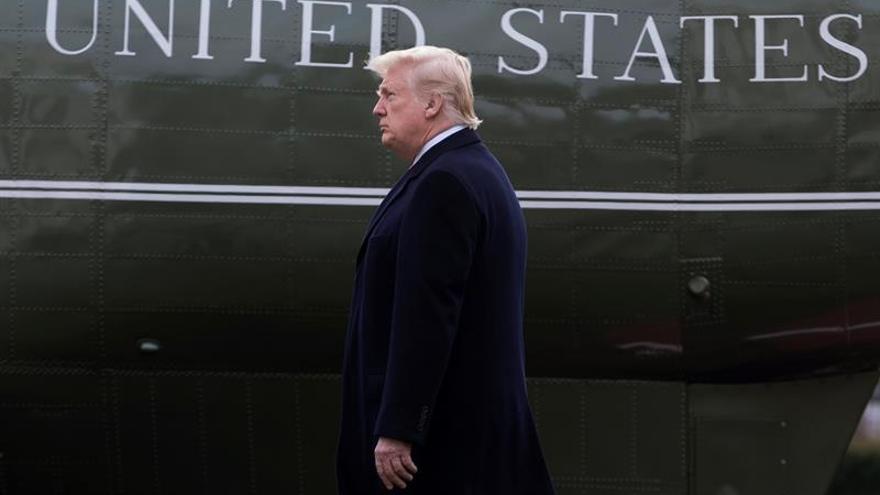Trump afirma que la investigación de su campaña electoral perjudica a EEUU