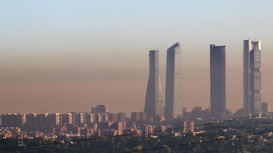 Madrid vuelve a activar el protocolo por los altos niveles de contaminación