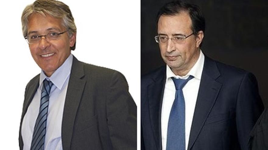 Los abogados Carlos Carbrera y Esteban Sola