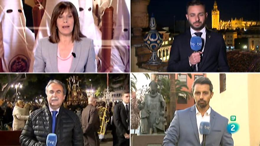 La cobertura de la Semana Santa en TVE