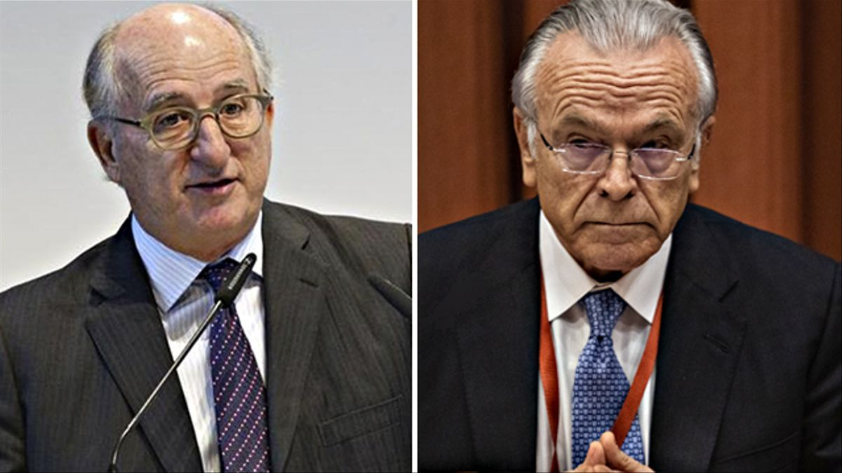 Antonio Brufau e Isidro Fainé.