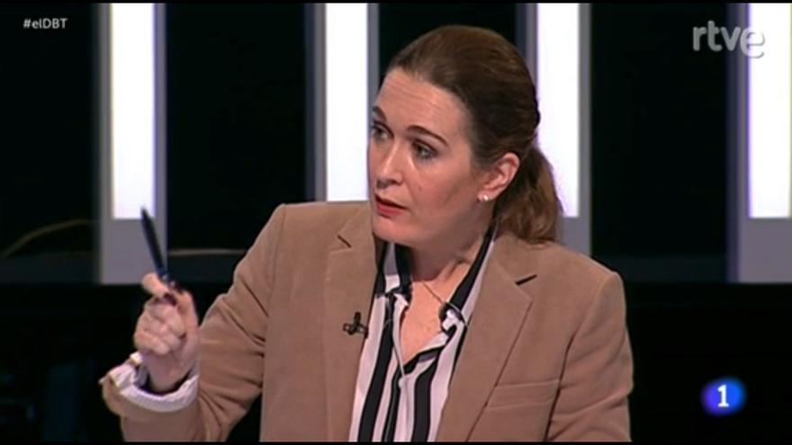 Marta Rivera de la cruz, responsable de la secretaría de Relaciones Institucionales de Ciudadanos