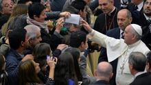 """El papa recuerda a los consagrados el valor de la """"obediencia"""" en la vida religiosa"""