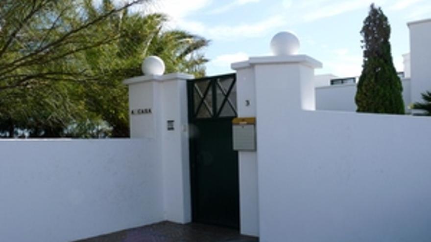 Casa de Saramago, en Tías.