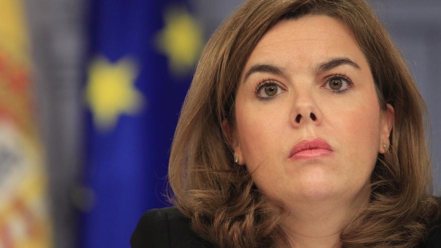 Soraya Sáenz de Santamaría se reúne el lunes con la comisión gestora del PP navarro