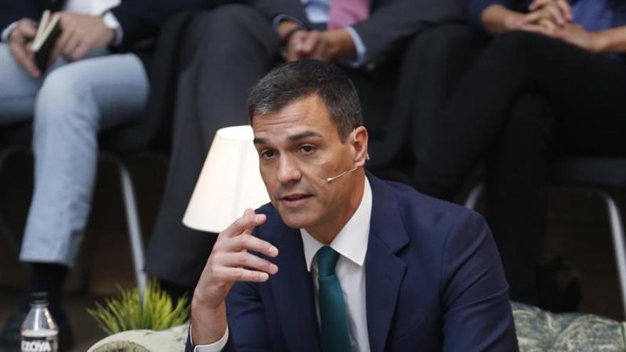 Sánchez pide al PP que no vete su investidura si tiene más apoyo en escaños