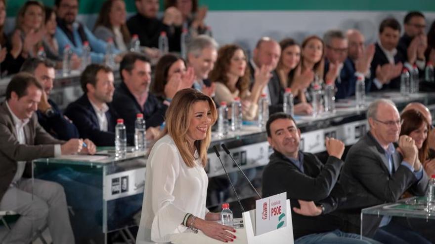 Díaz: Al PSOE no lo va a poner nadie de rodillas, ha ganado las elecciones