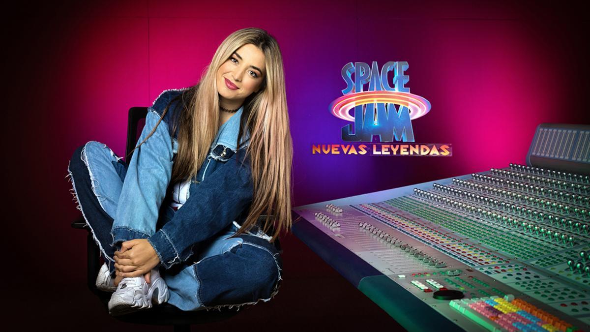Lola Indigo en el doblaje de 'Space Jam: Nuevas leyendas'.jpg