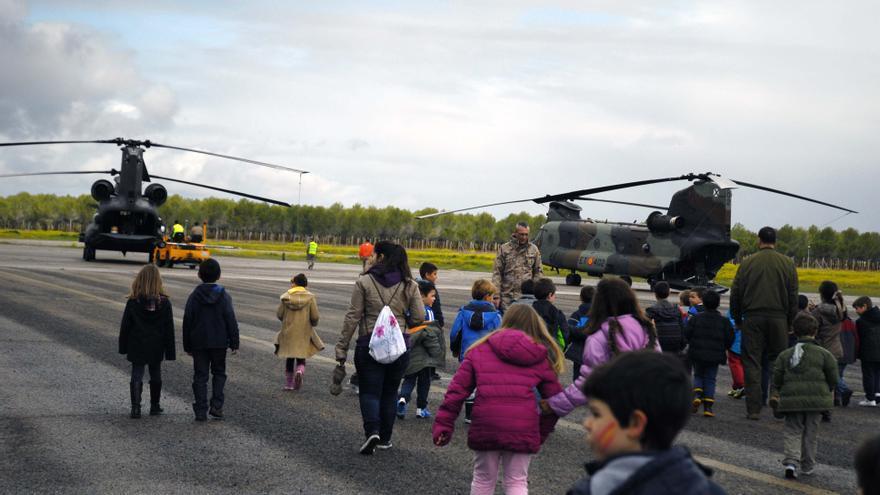 Visita Base Helicópteros Almagro
