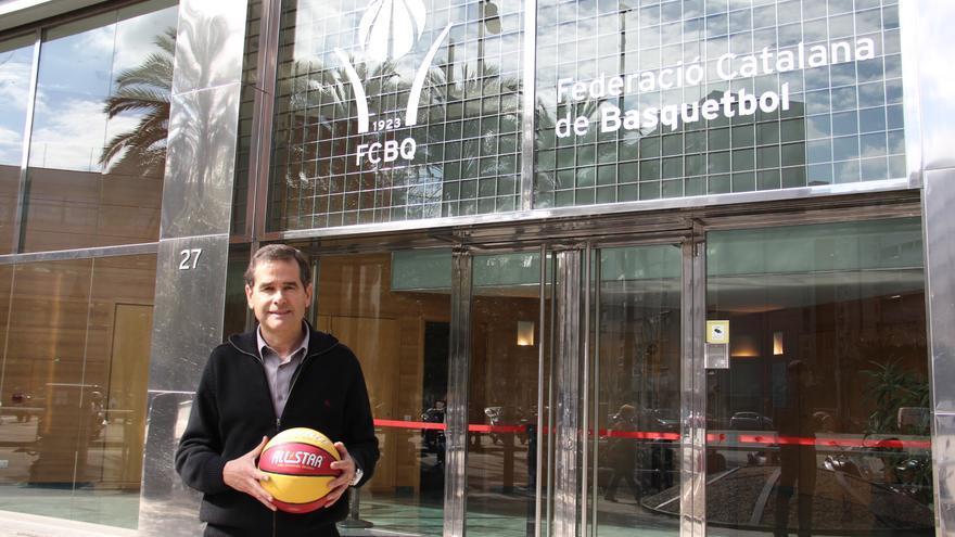 Para Solazabal el baloncesto europeo se está acercando cada vez más al nivel de la NBA.