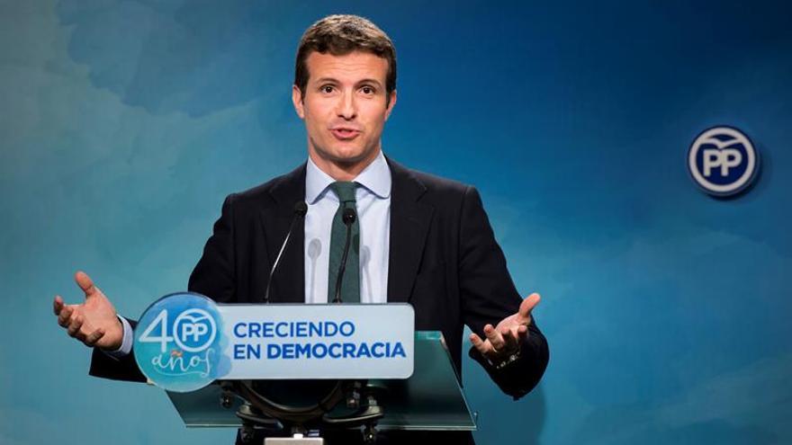 El PP ve adecuado que Puigdemont vaya al Senado pero confía poco en lo que diga