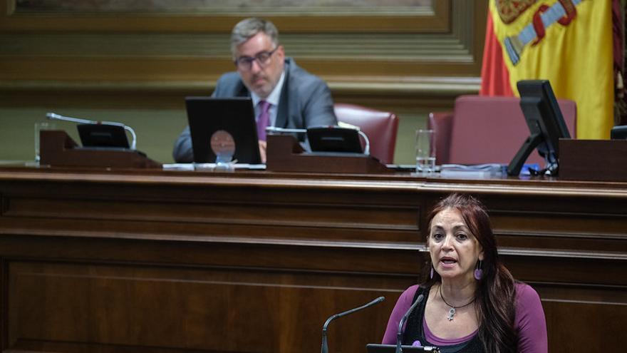 La diputada de Podemos María del Río.