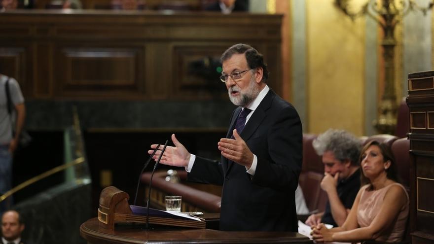 Rajoy responde a Robles (PSOE) recordando el caso Lasa y Zabala y afea a Iglesias su conexión con Venezuela
