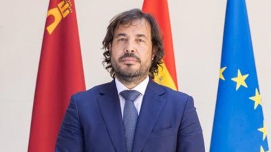 Miguel Motas, consejero de Empleo del Gobierno regional