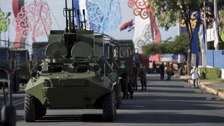 Resultado de imagen para soldados venezolanos en desfile nicaragua