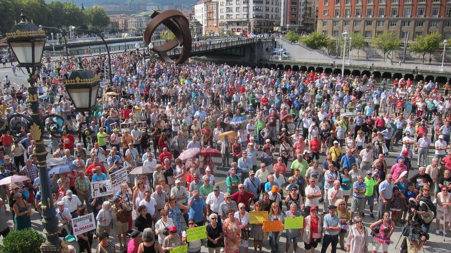 Pensionistas Bizkaia recabará el apoyo de residencias y asociaciones de mayores para la manifestación del 1 de octubre