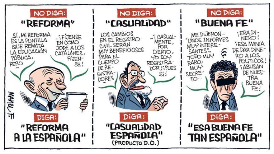 ¡A la española!