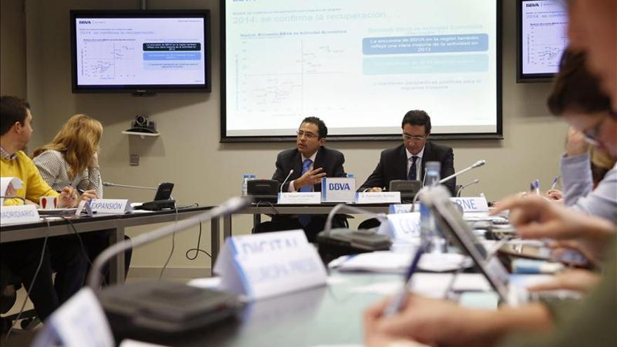 La economía madrileña crecerá el 2,5 por ciento en 2015 y el empleo el 2,6 por ciento, según BBVA