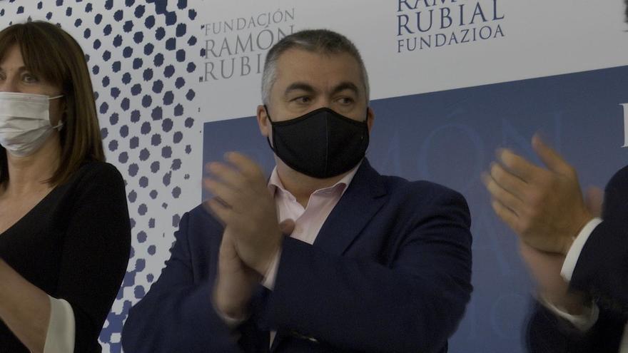 Archivo - El secretario de Organización del PSOE, Santos Cerdán