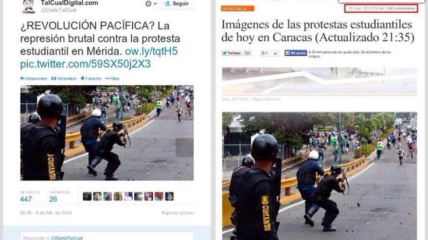 Imagen de policía venezolana de 2010