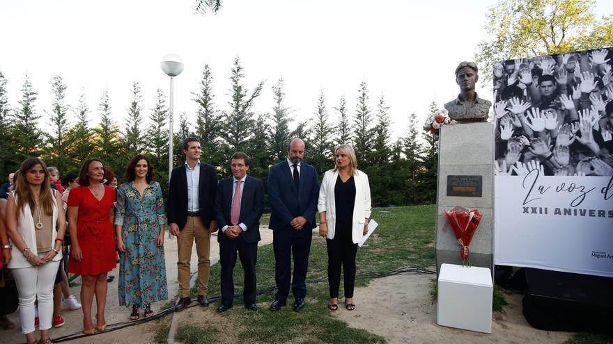 Casado reclama que los herederos de Batasuna no puedan ser interlocutores políticos en el homenaje a Miguel Ángel Blanco