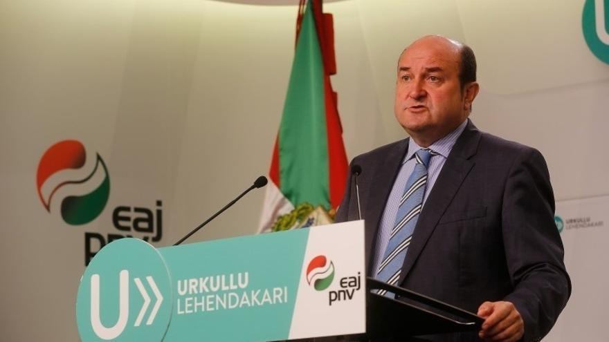 """Ortuzar pide a PP que """"pare el furor de recursos"""", reconozca que Euskadi """"es una nación"""" y regule el derecho a decidir"""