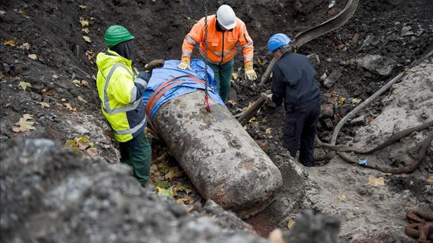 Desactivan una bomba de 1.800 kilos de la II Guerra Mundial en Dortmund