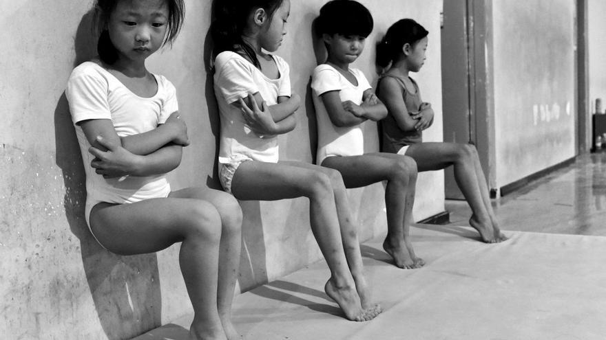 Sweat Makes Champions / Tiejun Wang, China