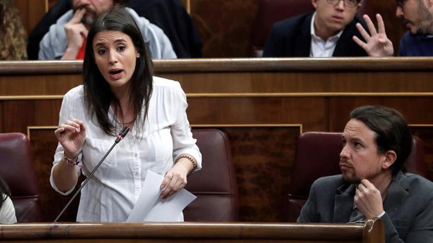 Irene Montero pide derogar reforma laboral e igualar las bajas de paternidad