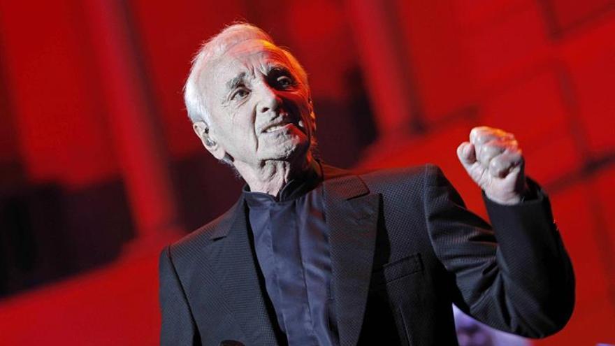 Charles Aznavour ofrecerá un concierto el 31 de enero en Madrid