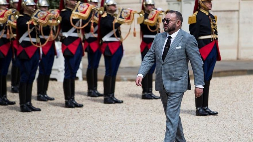 """Mohamed VI se enfada con 14 gendarmes y los """"destierra"""" al Sáhara Occidental"""