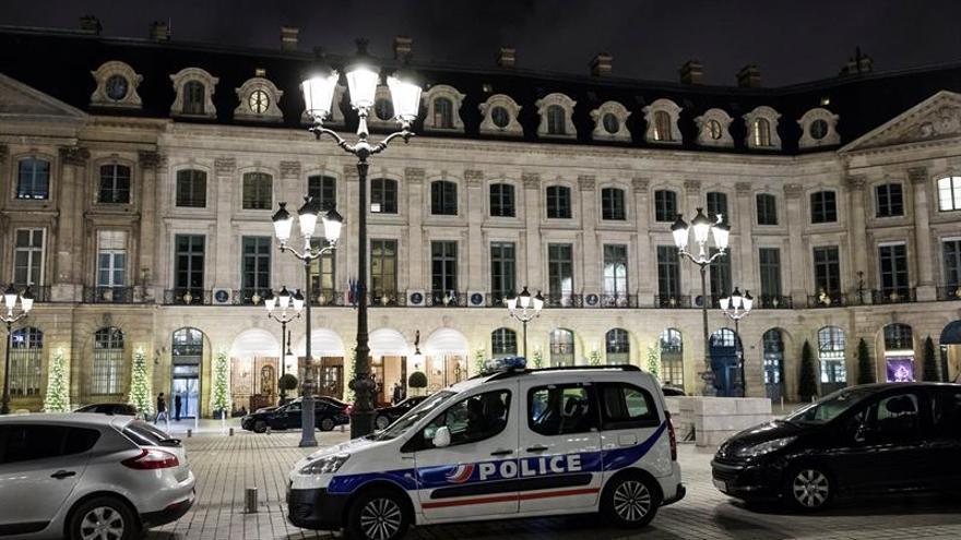 Prisión provisional para los tres asaltantes de la joyería del Ritz
