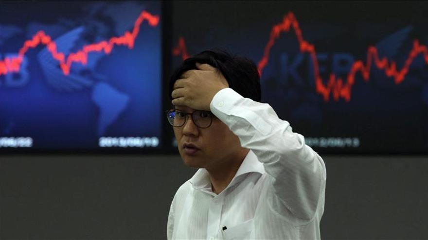 El Kospi surcoreano sube un 0,38 por ciento hasta los 2.130,94 puntos