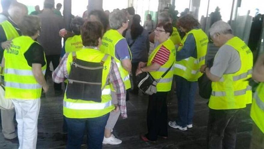 Concentración de la PAH en el Ayuntamiento de Parla.