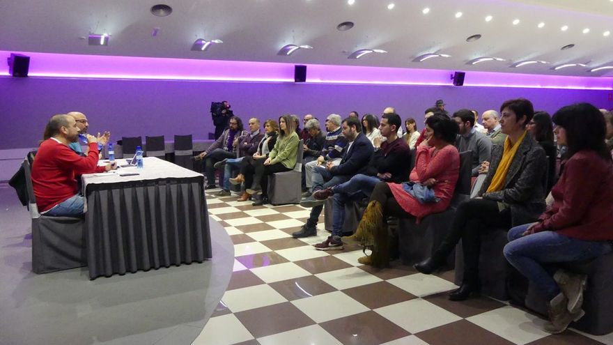 La dirección regional de Podemos Castilla-La Mancha ha reunido a sus candidatos en Albacete