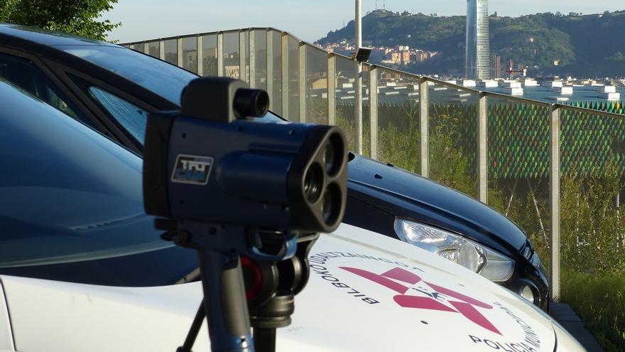 Policía Municipal de Bilbao pone en marcha desde este lunes una campaña de control y vigilancia de la velocidad