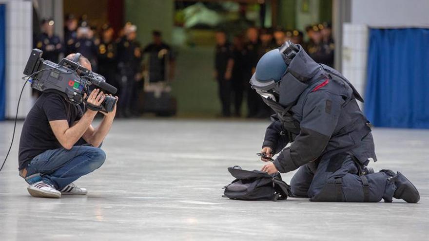 La Policía descarta relación del paquete detonado en Marbella con terrorismo