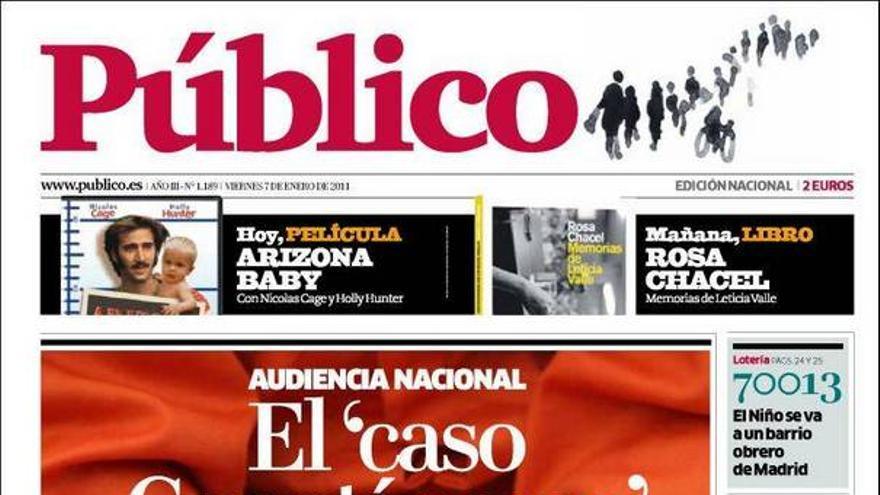 De las portadas del día (07/01/2011) #11