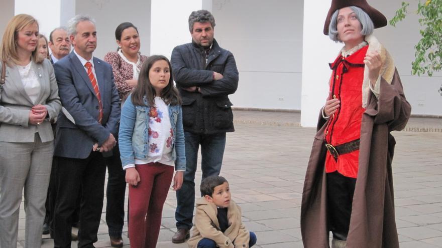 Visitas teatralizadas al Palacio de la Merced de Córdoba, dónde vivió unos años Cristóbal Colón.