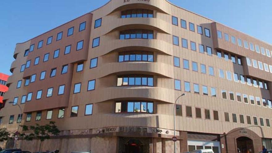 Edificio El Cabo, donde se halla la sede del Colegio de Abogados de Santa Cruz de Tenerife
