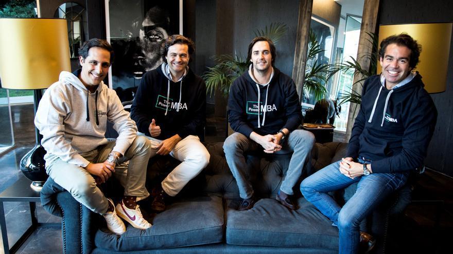 Kike Corral, Rafa Gozalo, Hugo Arévalo y Borja Adanero, fundadores de la empresa