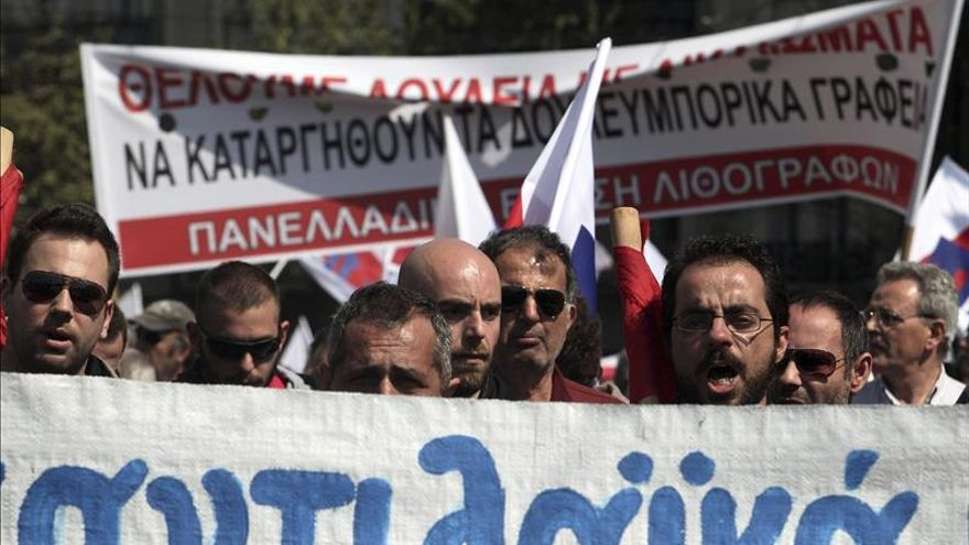 Grecia vive hoy la segunda huelga general en un mes contra los recortes