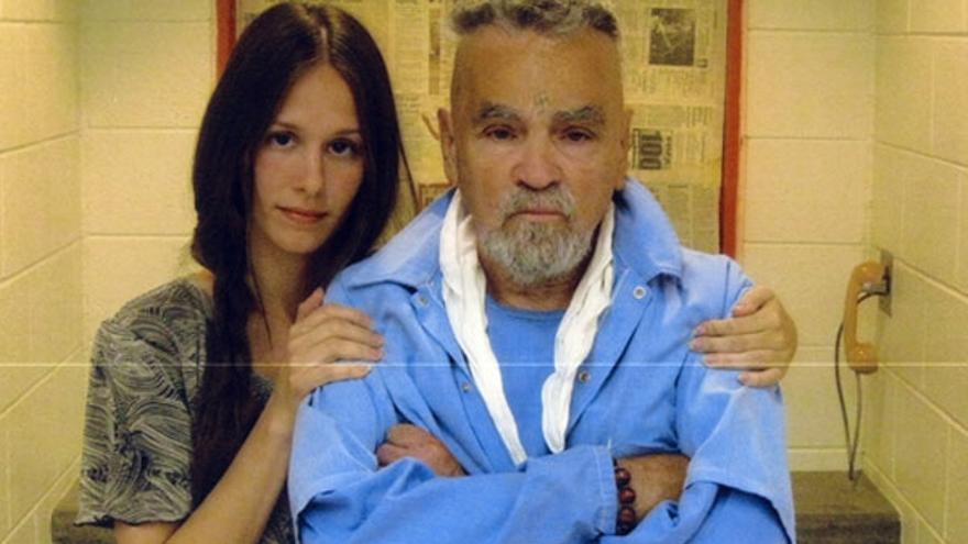Charles Manson y su novia