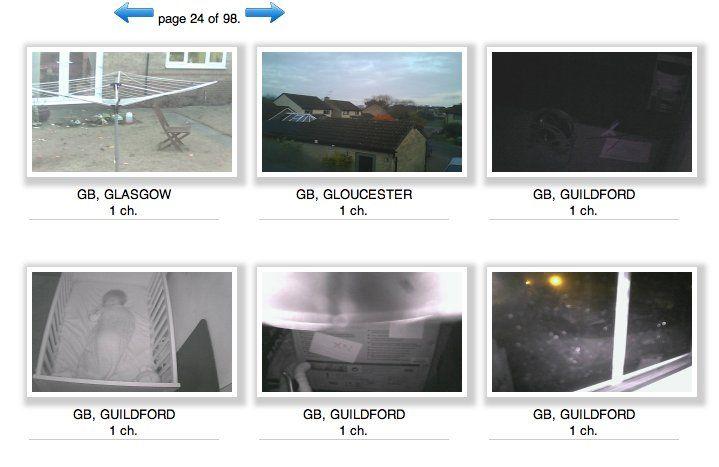 Webcams hackeadas
