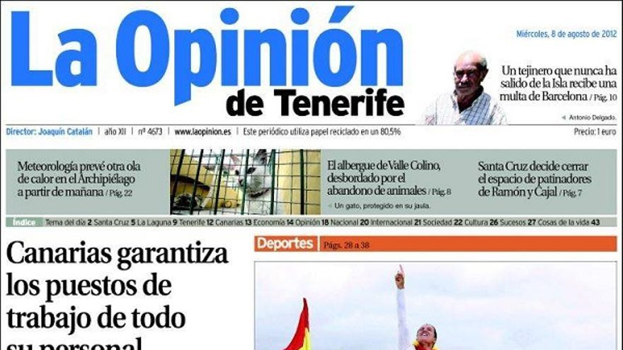 De las portadas del día (08/08/2012) #5