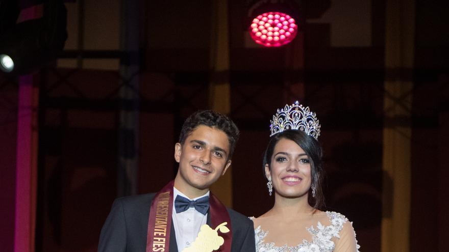 Xiomara Bienes y Diego Hernández.