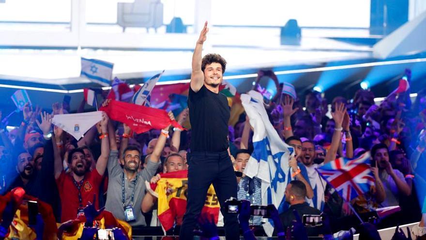 Eurovisión 2019: Miki al final de su actuación
