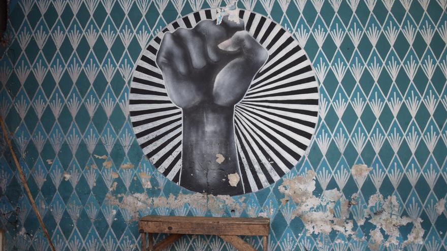 Mural en La Medina. (ALICIA JUSTO)